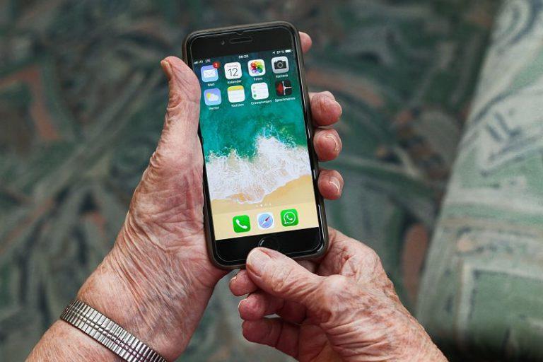 moviles sencillos para personas mayores